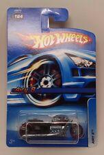 2006 Hot Wheels #164 Mainline Car Motorcycle Airy 8 Black NIP