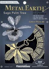 Fascinations Metal Earth 3D Laser Cut Steel Model Kit - Sago Palm Plant Tree