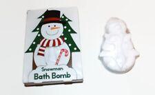 Snowman Bath Bomb Relaxing Vanilla Skin Moisturing Bubbles Xmas Gift