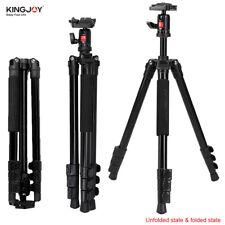 "KingJoy 61"" PRO Alumn Tripod,Ball Head,spirit level,Flip leg lock fo Canon Nikon"