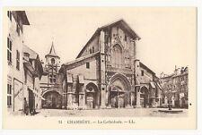 France - Chambéry, La Cathédrale - 1920's postcard