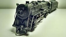 Vintage Gilbert Ho Wabash 4-6-4 Hudson and tender with smoke #31045