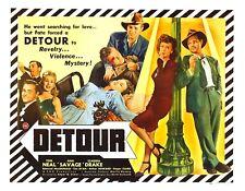 Detour 1945 Drama Film-Noir  DVD