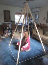 The Economy Nubian Foldup Wood Meditation Pyramid (New)