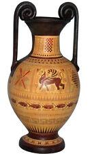 Ancient Greek Geometric Geometric Vase Museum Replica Reproduction
