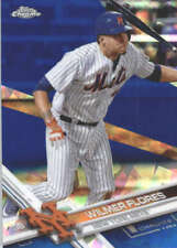 WILMER FLORES 2017 TOPPS CHROME SAPPHIRE EDITION #172 ONLY 250 MADE