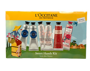 L'Occitane En Provence Sweet Hands Kit Travel Exclusive (6 Pieces) NEW SEALED