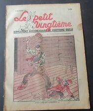 TINTIN HERGE LE PETIT VINGTIEME NO 49 1937 BON ETAT