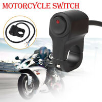 Motorbike Motorcycle Handlebar Headlight Fog Spot Light On Off Switch Waterproof