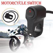 Motorbike Motorcycle Handlebar Headlight Fog Spot Light On Off Switch Waterproof