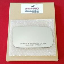 Mirror Glass + Adhesive For Volvo 240, 740, 940, 960, S90, V90 Passenger Side