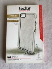 New Tech21 Impactology Evo Mesh Clear Cell Phone Case Apple Iphone 6