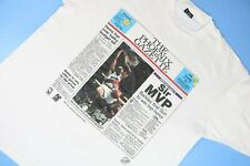 Vintage Charles Barkley Single Stitch T-Shirt 1993 MVP The Phoenix Gazette Sz XL