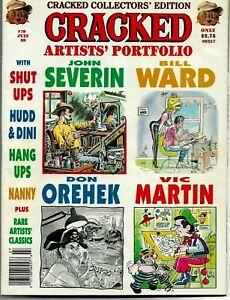 CRACKED Magazine Artist's Portfolio #79 BILL WARD Five Pages SEXY GGA 1989