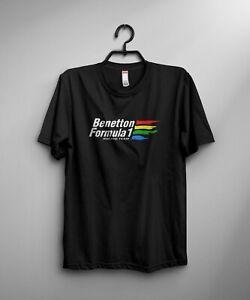Benetton Formula T-Shirt Classic F1 Enthusiast VARIOUS