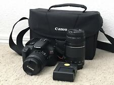 Canon Rebel T6 Digital SLR Camera Mega Bundle - Black