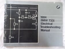 BMW 1984 733i Electrical Troubleshooting Manual  genuine factory tool