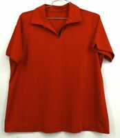 Southwest Airline Branded Women's 1XW Doc & Amelia Red Short Sleeve Polo Shirt