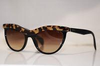 PRADA Womens Designer Sunglasses Black Cat Eye SPR 06P MA5-6S1 16310