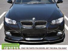 07-13 BMW E92 E93 2Dr M-Tech M Sport Universal Front Bumper Lip Carbon Fiber