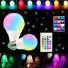 B22 E27 RGB 16 Changement de Couleur Télécommande Contrôlée Ampoule LED Lampe