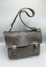 Mulberry Barnaby Messenger Bag / Laptop / Briefcase in Chocolate Brown  Leather