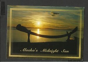Alaska Joe  Colour Postcard Alaska's Midnight Sun Arctic Alaska unposted