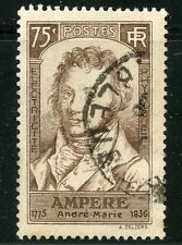 STAMP / TIMBRE FRANCE OBLITERE N° 310 ANDRE MARIE AMPERE