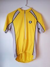 Descente Bicycle Jersey - Men's Small - Yellow
