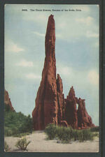 1910s THE THREE GRACES GARDEN OF THE GODS COLO POSTCARD