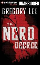NEW The Nero Decree by Gregory Lee