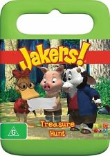 Jakers - Treasure Hunt (DVD, 2010) Region 4 Used Good Condition with Free Post