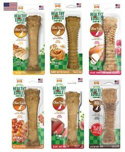Nylabone Healthy Edibles All-Natural Long Lasting Asst Flavor     Free Shipping