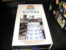 Doctor Who-The Daleks-30th Ann.-Chase/Remembrance-2 vhs
