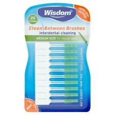 Wisdom Medium Green Clean Between Interdental Brushes