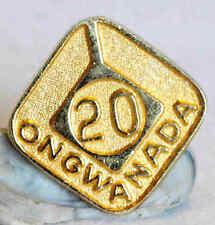 VINTAGE STERLING SILVER ONGWANADA KINGSTON ONTARIO CANADA TIE TACK PIN