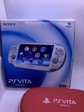 SONY PS Vita Console System PCH-1000 ZA02 Crystal White Wi-fi Model
