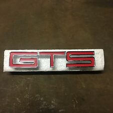 Holden HT GTS Monaro Grill Badge - Red