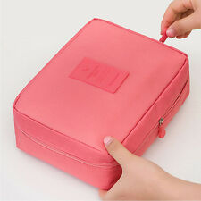 Women Travel Outgoing Cosmetic Makeup Bag Zipper Toiletry Case Storage Pouch US