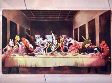 Custom Yugioh CARDFIGHT MTG Playmat Legendary Pokemon Round Table  #406