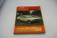 Morris Marina from 1971 Workshop Manual (Autodata car repair manuall)