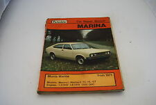 Morris Marina from 1971 Workshop Manual (Autodata car repair manuall)