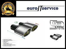 NEUF TWO TOP MUFFLER TIP ULTER SPORT N1-49L/P* - SILENCER TAIL PIPE Ø160x80