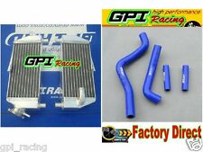 aluminium radiator + hose Kawasaki KX125 KX250 KX 125 250 94-02 01 00 99 98 97