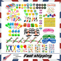 154PCS Carnival Prizes for Kids Birthday Party Favors Prizes Box Toy Assortment