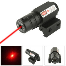EE_ RED LASER SIGHT 11/20MM MOUNT BORE SIGHTER SCOPE HUNTING TACTICAL TOOL FADDI