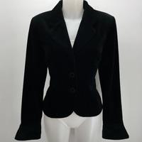 Christian Dior Black Velvet Blazer
