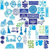 Carbon Steel 3D Cutting Dies Stencils Scrapbooking Embossing Cards Crafts New