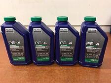 Polaris 4 Quarts Full Synthetic Premium Oil Kit 5W-50 PS-4 ATV UTV OEM 2876244