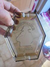 Ancien Cendrier Cognac Courvoisier Silhouette de Napoléon Bonaparte